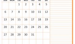 December 2020 Calendar with Holidays Word