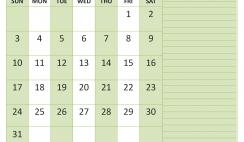 May 2020 Calendar with Holidays Free Printable