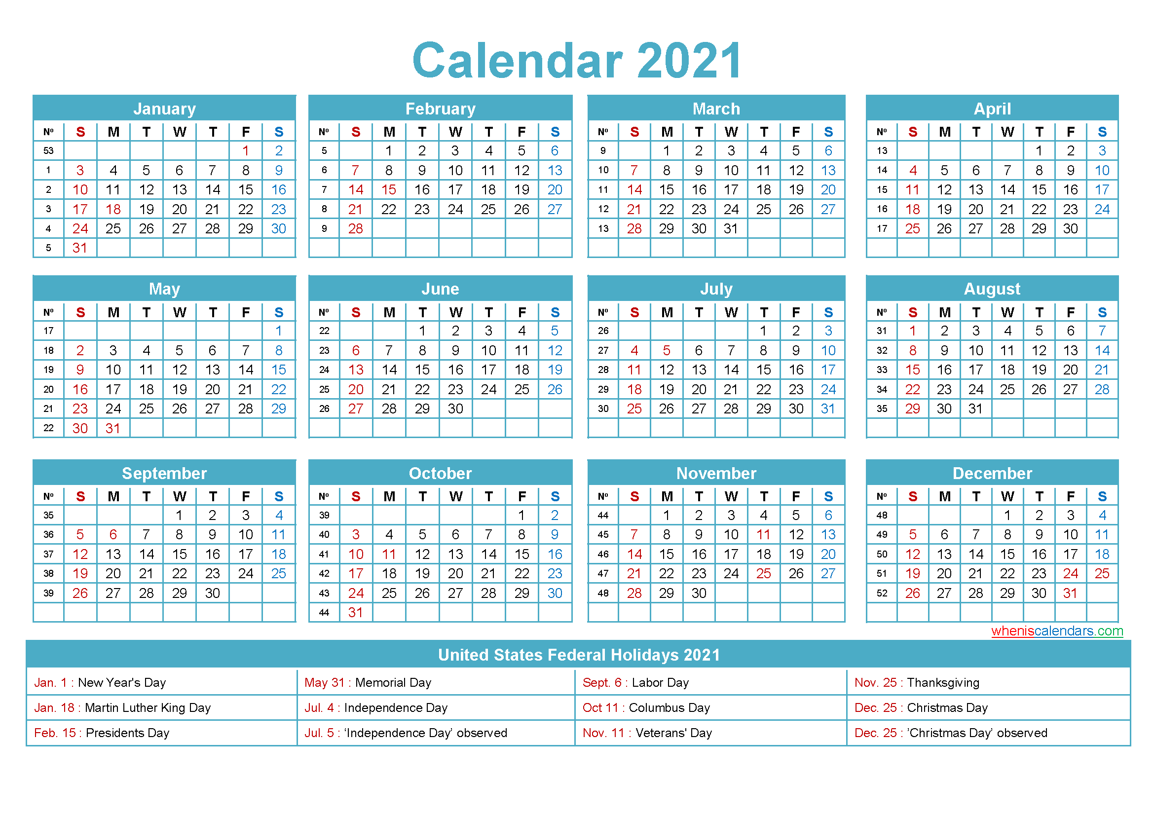 Printable Small 2021 Calendar Mini Desk Calendar 2021 Free Printable – Free Printable 2020