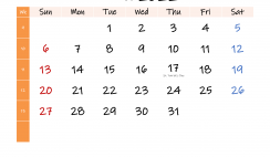 Free March 2022 Monthly Calendar Template Word