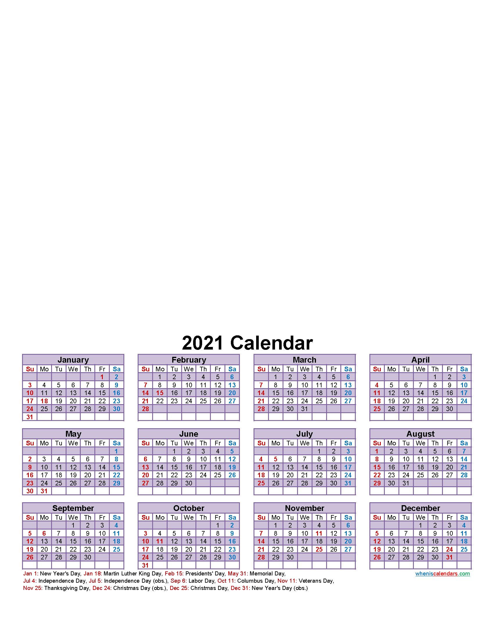 Make Your Own Photo Calendar Free 2021