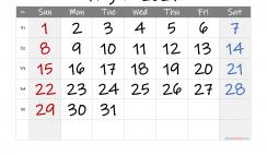 Printable August 2021 Calendar with Holidays
