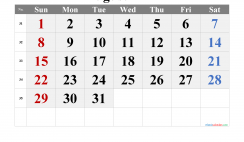 August 2021 Printable Calendar with Holidays