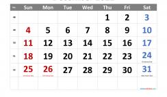 Free December 2022 Calendar Printable