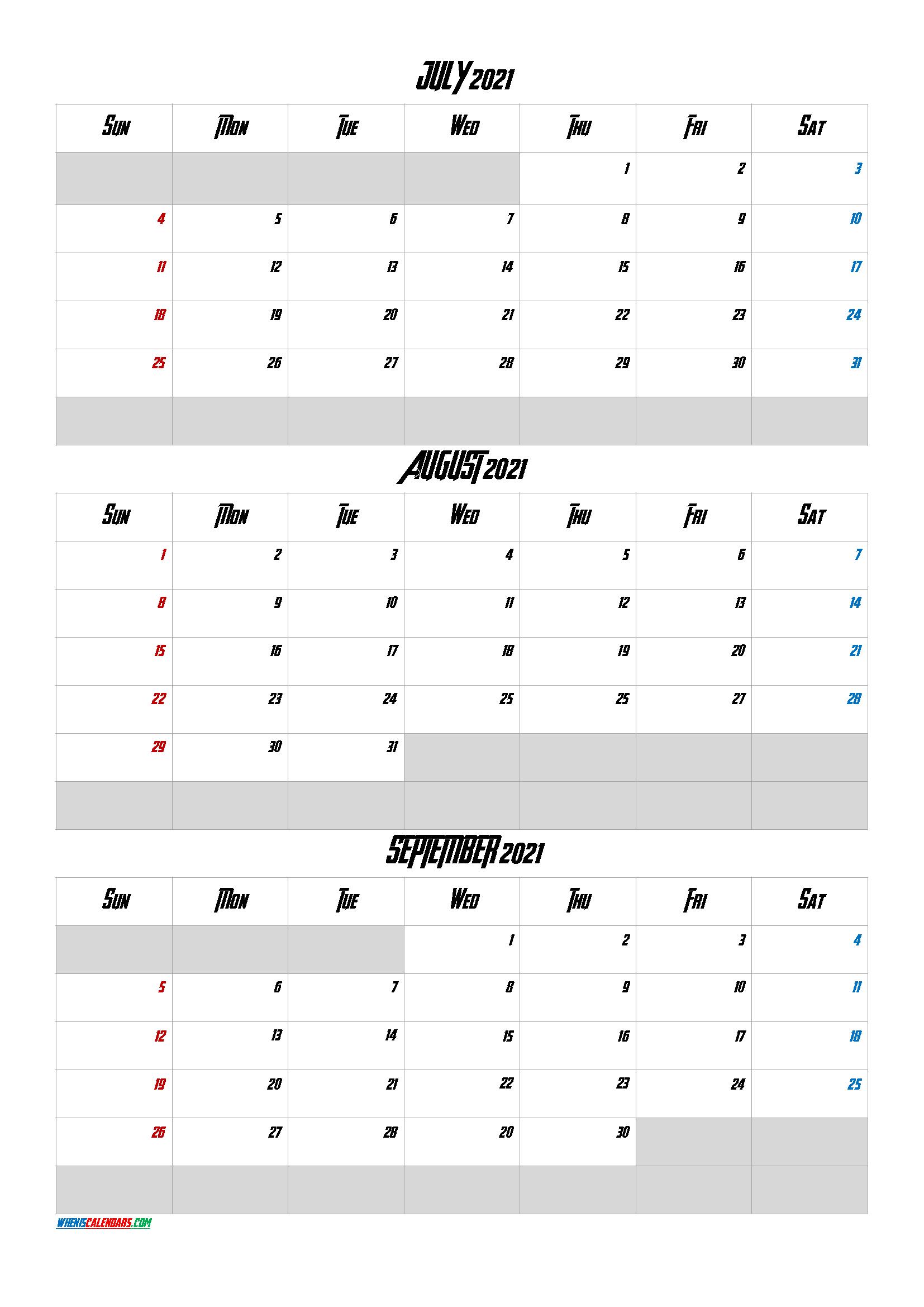 https www wheniscalendars com july august september 2021 calendar printable ave 5