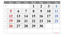 June 2022 Printable Calendar with Holidays