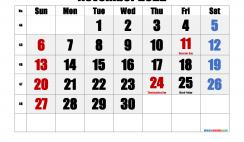 Free November 2022 Calendar Printable