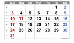 Printable October 2021 Calendar with Holidays