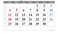 Free September 2022 Calendar Printable