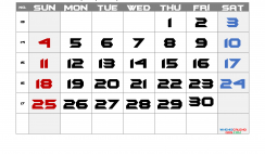 Printable Calendar 2021 April