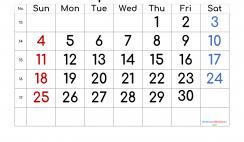 Free Printable 2021 April Calendar