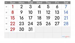 Free Printable Calendar 2021 August