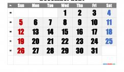 Printable Calendar 2021 December
