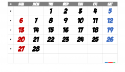 Free Printable Calendar 2022 February