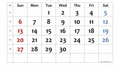 Printable Calendar 2021 June