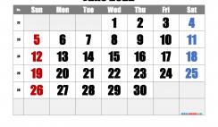 Free Printable June 2022 Calendar with Week Numbers