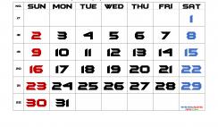 Free Printable 2021 May Calendar