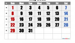 Printable Calendar 2022 May