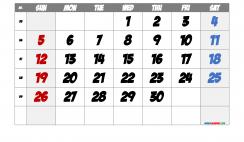 Free Printable 2021 September  Calendar