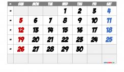 Printable September 2021 Calendar with Week Numbers