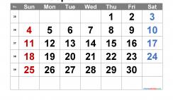 Printable September 2022 Calendar with Week Numbers