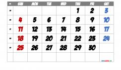 Free Printable Calendar 2022 September