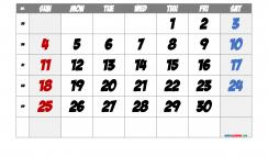 Free Printable 2022 September Calendar