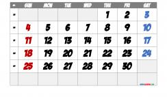 Printable September 2022 Calendar