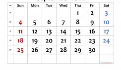 Printable Calendar 2022 September