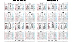 Free Printable 2020 2021 Calendar
