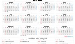 Printable Calendar 2022 Free