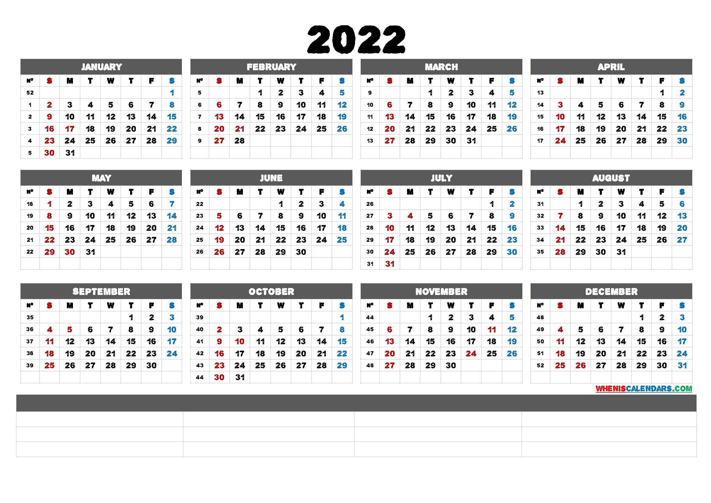 2022 Weekly Calendar Printable.Free Printable Calendar Templates 2022 6 Templates Free Printable 2021 Monthly Calendar With Holidays