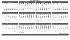 Downloadable 2022 Monthly Calendar