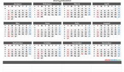 Free Printable 2022 Calendar by Month