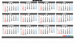 Free Downloadable 2022 Monthly Calendar