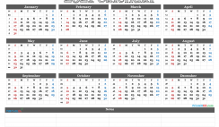 Free Printable 2021 Calendar Templates