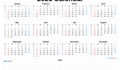 Printable 2021 Calendar by Year