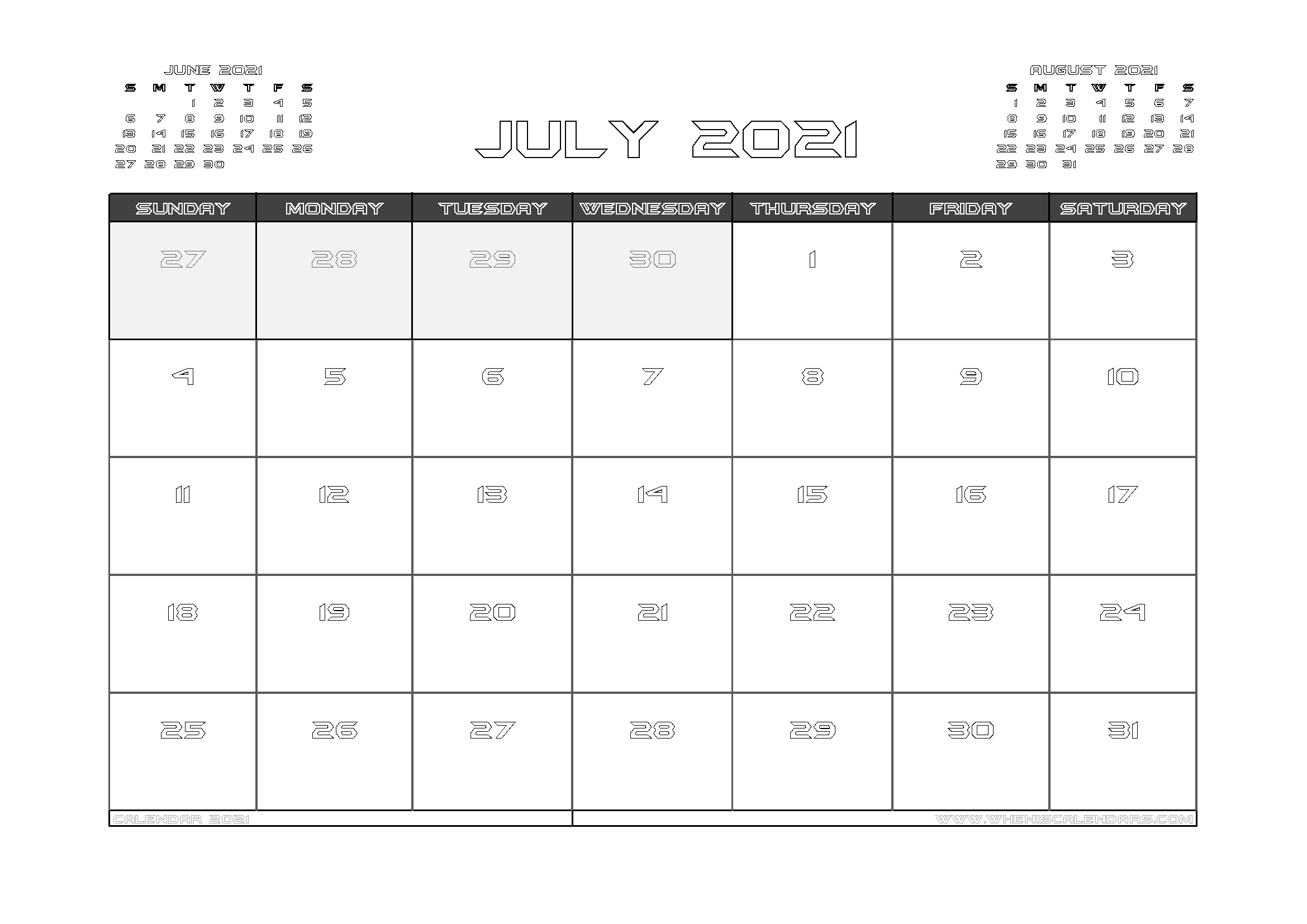 July 2021 Calendar Australia with Holidays