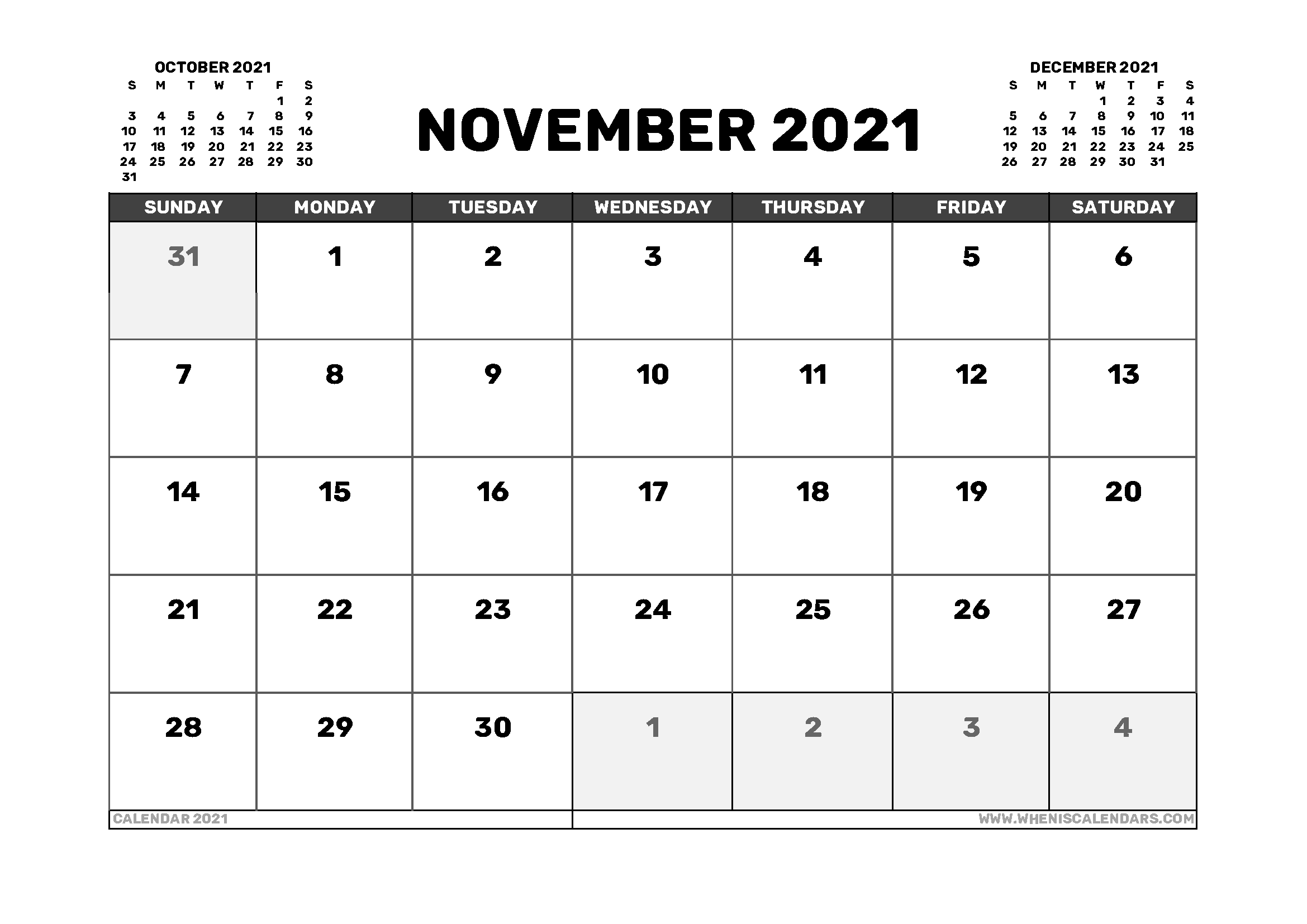 November 2021 Calendar Australia with Holidays