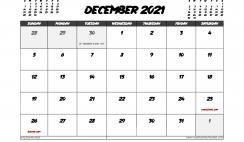 December 2021 Calendar UK with Holidays