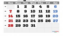 Printable August 2022 Calendar Free