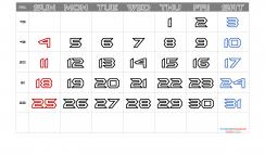 Free Printable December 2022 Calendar