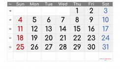 Printable December 2022 Calendar Free
