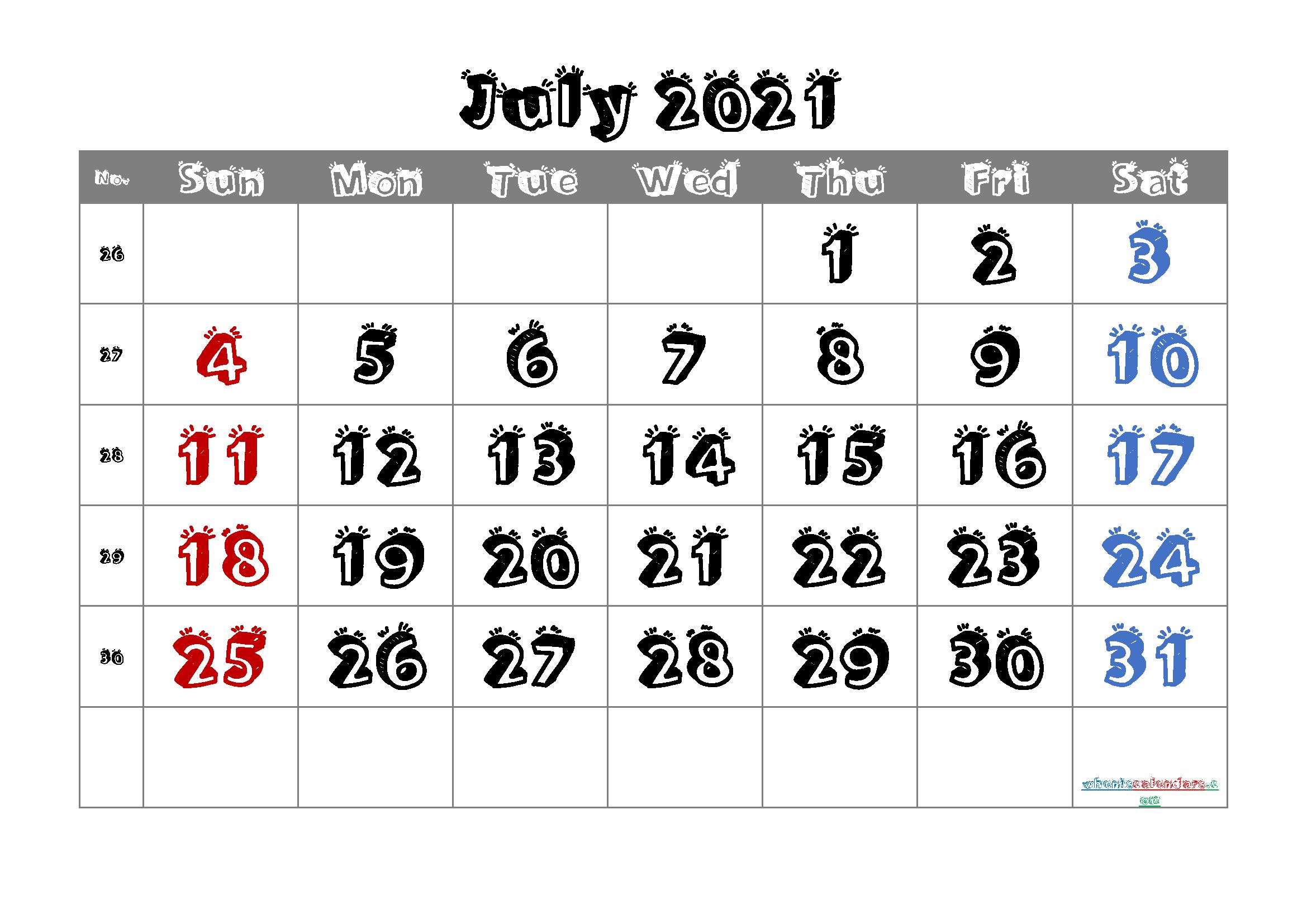Editable  2021 Calendar