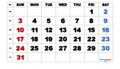 Printable July 2022 Calendar Free
