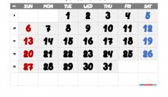 Free Printable March 2022 Calendar