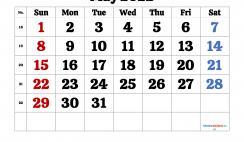 Printable May 2022 Calendar Free