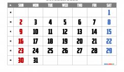 Free Printable October 2022 Calendar