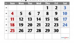 Free Printable September 2022 Calendar