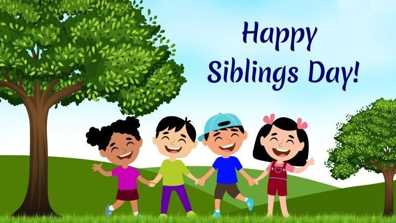 Happy National Siblings Day and When is National Siblings Day 2022, 2023, 2024, 2025